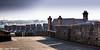 City Walls of Derry Londonderry  UK  8 (Yasu Torigoe) Tags: citywallsofderrythisisnexttothebishopgatewhichison londonderry northernireland unitedkingdom gb citywallsofderrythisisnexttothebishopgatewhichisoneofthefouroriginalgatesinthecitywallsofderrynorthernirelanduk