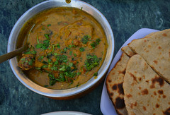 Butter chicken curry with Indian bread (phuong.sg@gmail.com) Tags: background balti bowl butter chargrilled chicken chili cilantro cooking coriander cream creamy cuisine curry delicious dining dinner dish food garnish gourmet healthy honey hot india indian kadai karahi light lunch makhani marinated masala meal meat mild murgh naan paprika restaurant rice sauce spicy tasty tomato traditional hrtan