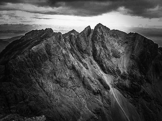 Stone shoot, Isle of Skye