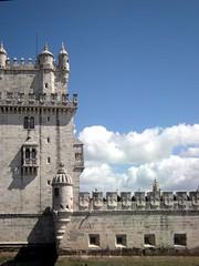 Torre di Belém - Lisbona - Portogallo (lucy PA) Tags: portogallo torre di belem fortezza lisbona tower portugal lisbon fortress monumenti monument