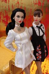 Red and Snow (Suburban Tabby) Tags: throughthewoods fairestofall poppyparker fashionfairytale doll fashiondoll integritytoys convention littleredriddinghood snowwhite