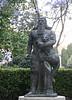 2017 University of Sydney: Statue of Gilgamesh #1 (dominotic) Tags: 2017 universityofsydney camperdown innersydney jacarandatree statueofgilgamesh sydney australia