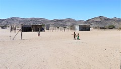 Namibia's Beauty: Doro Nawas, Damaraland (ronmcbride66) Tags: namibia namibiasbeauty doronawas damaraland children tinysettlement desert remoteness offroad desertadaptedelephants shack hills geology namib namibdesert isolation rural