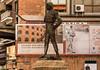 Monumento a Manolo Montoliu, Valencia (jacqueline.poggi) Tags: comunidadvalenciana espagne españa josémanuelcalvobonichón monumentoamanolomontoliu spain valence valencia sculpture torero toréador