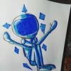 Visão passada !  #astronauta #rabisco #cores #staedtlermars #unipaintmarker #ixlutxferreira #ixlutx #papel #hidrocor #magicmarker #exercicio #arte #artista #salvador #bahia  https://www.instagram.com/p/Bb9XdyMBtXw/ (ixlutx) Tags: salvador arte unipaintmarker magicmarker hidrocor staedtlermars ixlutxferreira astronauta ixlutx rabisco exercicio bahia cores artista papel