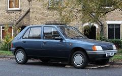G30 JVF (1) (Nivek.Old.Gold) Tags: 1989 peugeot 205 grd 1769cc brundlesport kingslynn