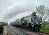 60009 at Pirton Rd Crossing (1Z34) 24.05.2014 (Wolfie2man) Tags: britishrail worcestershirerailways kettle 60009 unionofsouthafrica steamengine steam steamtrain mainlinesteam a4 streamline lner