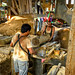 Workers at the Trishakti Sawmill in Nawalparasi district, Nepal