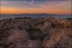 Sunset (antoniocamero21) Tags: color foto sony atardecer playa lescala girona catalunya brava costa