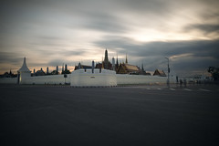 Wat Phra Kaeo (fredMin) Tags: bangkok thailand long exposure clouds travel fujifilm xt1 temple buddha