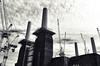 Powerful (Coquine!) Tags: christianleyk london england greatbritain battersea unitedkingdom kraftwerk batterseapowerstation power crane cranes kran kräne construction baustelle development clouds wolken