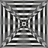 Walzertiefe (Marco Braun) Tags: opart abstakt abstract abstraque schwarz weiss white black noire blanche tiefe deep 3d depth stern square carré quadrat