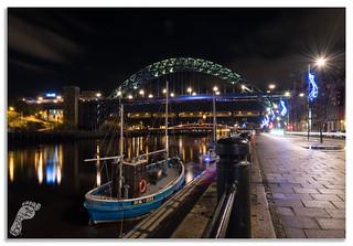 'Rachel Douglas' on the Quayside, Newcastle
