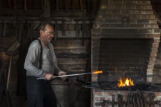 Village Historique Acadien Blacksmith