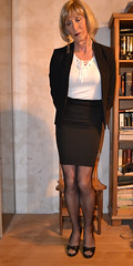 DSC_0013 (magda-liebe) Tags: crossdresser french tgirl highheels shoes skirt travesti stockings