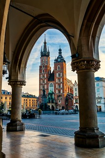 Early Morning in Cracow, Poland