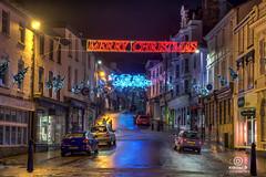 bideford dec2017-3 (kapper22) Tags: bideford early morning christmas rain wet lights