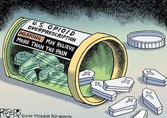 Opioids (DES Daughter) Tags: drugs prescription heroin overdose addiction addict coffin painkillers opioids cartoon