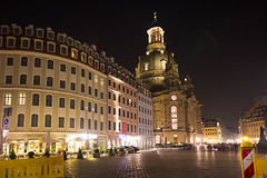 Dresden by night (rhianwhit) Tags: dresden night urban light dark city building architecture