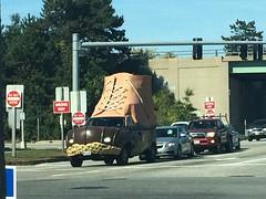 portland :: bean.boot.mobile (origamidon) Tags: llbean boot bootmobile street streetscape commercialst portlandmaineusa portland maine me usa 04101 cumberlandcounty donshall origamidon