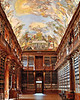 philosophical hall (tewhiufoto) Tags: library philosophicalhall janignácpalliardi italianarchitect bohemia walnutinterior znojmo shelves interior janlahoferoftasovice earlyclassiciststyle hall monumental ceilingfresco antonmaulbertsch painted gallery staircases book fresco intellectualprogressofmankind abbotváclavmayer strahov praha romanticprague prague prag praga natgeotrave agameoftones