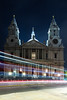 St Paul's Cathedral (Rich Walker75) Tags: london light lighttrails lighttrail lights longexposure longexposures longexposurephotography landscapes landscape landscapephotography landmark lake cathedral road traffic night nightshot nighttime nightlights england canon eos100d efs1585mmisusm eos