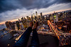 New York Sunset Show Selfie (Terry Moran Photography) Tags: new york city ny nyc big apple nikon d810 nikkor usa flynyon manhattan sunset show selfie helicopter birds eye view sky skyline landscape cityscape structures