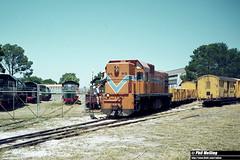 2807 AA1519 Rail Transport Museum 28 January 1982 (RailWA) Tags: railwa philmelling westrail 1982 aa1519 rail transport museum