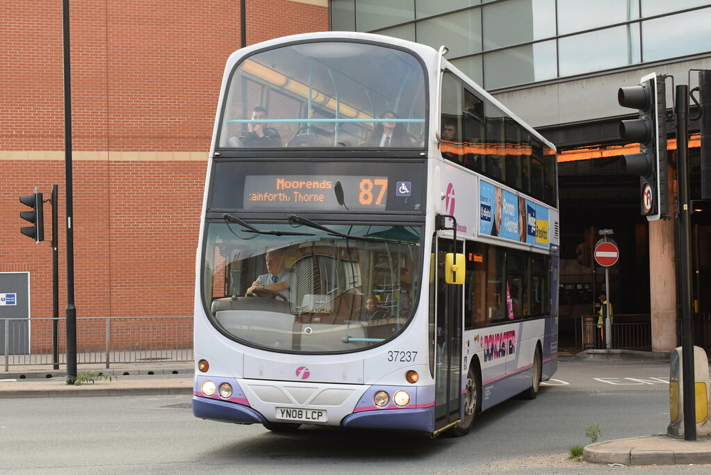 Fsy 37237 Doncaster Frenchgate Bus Station Ianjpoole Tags First South Yorkshire Volvo
