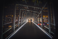 Into the Abyss (A Great Capture) Tags: agreatcapture agc wwwagreatcapturecom adjm ash2276 ashleylduffus ald mobilejay jamesmitchell toronto on ontario canada canadian photographer northamerica torontoexplore fall autumn automne herbst 2017 night eatoncentre mall shopping centre hudsonsbay bridge architecture nightshot nighttime downtown city urban queen street west
