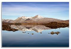 The Black Mount (Giovanni Giannandrea) Tags: highlands scotland scottish landscape volcanic rannochmoor blackmount lochtulia reflections