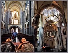 Dans la Munsterkerk, Roermond, Limbourg, Pays-Bas (claude lina) Tags: claudelina paysbas nederland hollande limbourg limburg roermond roermonde église church cathedral cathédrale kerk munsterkerk gisants