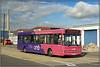 UNO 115, Harvey Reeves Road (Jason 87030) Tags: uon uni university everyone bus transport 115 pink purple urban northants northampton pointer wheels cool nice northamptonshire ke53lmy rubble uno harveyreevesroad