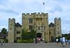 Hever Castle, Kent, 16th August 2003 (Linda 2409) Tags: castle drawbridge