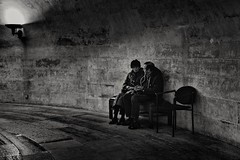 Dans la pénombre (krystinemoessner) Tags: monochrome blackwhite noirblanc paris pantheon krystine moessner taek photoderue streetpassionaward street streetphoto
