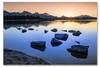 Abendidylle am See (SonjaS.) Tags: allgäu hopfensee sunset sonnenuntergang sonne strahlen spiegelungen reflektion deutschland germany verlaufsfilter stativ