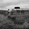 Bus, Eastern Washington (austin granger) Tags: bus washington palouse field grass decay abandoned time evidence impermanence square film gf670 smiths