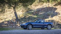 Mazda MX5 NB (iRafaNavarro) Tags: mazda mx5 nb miata azul descapotable roadster topmiata convertible
