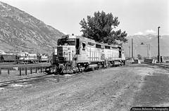Utah Railway & Union Pacific's Joint Yard (jamesbelmont) Tags: utahrailway unionpacific provo utah provoyard emd gp30 alco rsd4 jointyard railway wasatch