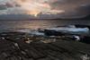 Last sunset session in Elgol (mvj photography) Tags: uk scotland ecosse sunset coucherdesoleil elgol skye waves vagues eau water poselongue longexposure seascape paysage