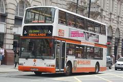 Finglands Volvo B7TL 1768 MF51MBX - Manchester (dwb transport photos) Tags: finglands eyms volvo plaxton president bus decker 1768 mf51mbx manchester