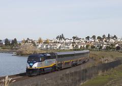 728 - Hercules (imartin92) Tags: hercules california amtrak passenger train capitolcorridor railroad emd f59phi locomotive sanpablo bay