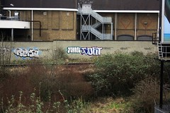 Rema, Sort, Moon - Clapham Junction (GRAFFLIX (grafflix.co.uk)) Tags: graff graffiti rema bgk ab nbd moon sort