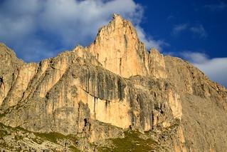 Croz di Santa Giuliana (2670 m), Catinaccio / Rosengarten group, Dolomites
