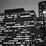 Tetris - Building at night thumbnail