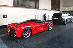 LaRossa (Beyond Speed) Tags: ferrari laferrari supercar supercars cars car carspotting carbon hypercar hybrid red v12 automotive automobili auto automobile london uk nikon