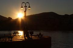In love (Argyro Poursanidou) Tags: couple people street love sunset sea seaside seaview sun sunlight sunrays chalkida