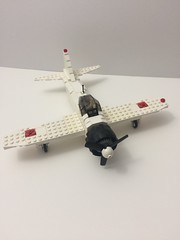 Mitsubishi A6M Zero Fighter (TheMachine27) Tags: lego zero wwii japanese fighter airplane mitsubishi military a6m