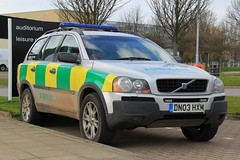 Wildreness Medical Services Volvo XC90 Rapid Response Vehicle (PFB-999) Tags: wilderness medical service volvo xc90 4x4 rapid response vehicle car unit paramedic lightbar grilles leds dn03hxm grimsby
