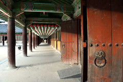 Doors (MelindaChan ^..^) Tags: gyeongju skorea 韓國 慶州 bulguksa temple 佛國寺 unesco heritage history korean chanmelmel mel melinda melindachan worship doors